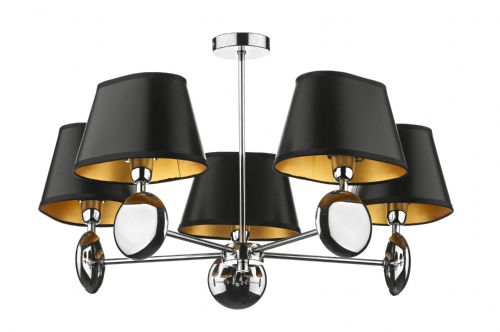 Lexington 5 Light Pendant(Dual Mount)Shade Sold Separately (Class 2 Double Insulated) BXLEX0550-17